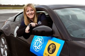 The NFYFC Drive it Home campaign launch, founded by Milly Wastie during her year as NFYFC chairman